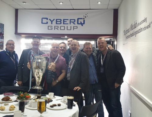 Villa Victory with our partners in the CyberQ box